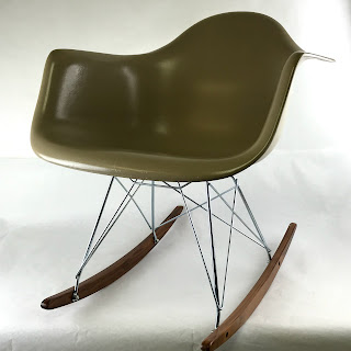 Modernica Fiberglass Shell Rocking Chair