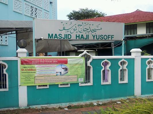 Haji Yusoff Mosque, 2 Hillside Drive, Singapore 548920