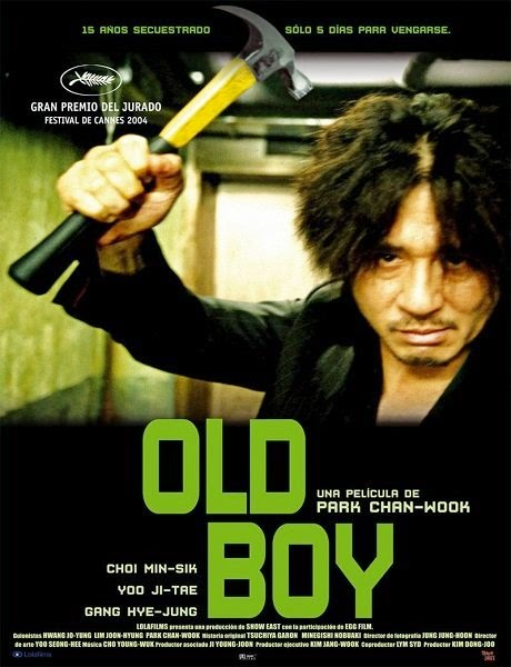 Poster Of Oldboy (2003) Full Movie Hindi Dubbed Free Download Watch Online At Alldownloads4u.Com