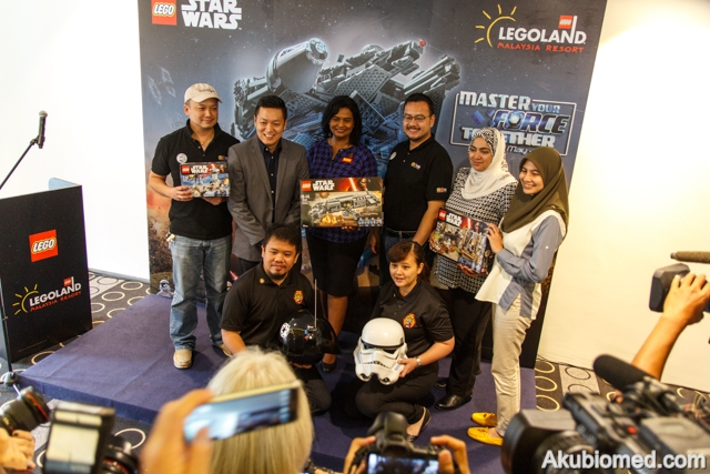 sidang media LEGO Star Wars Days
