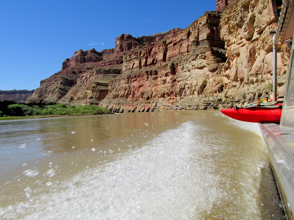 Jet boat up the Colorado River