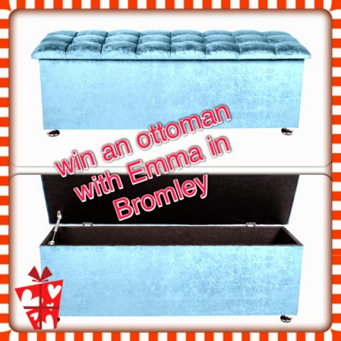 win an ottoman with emma in bromley