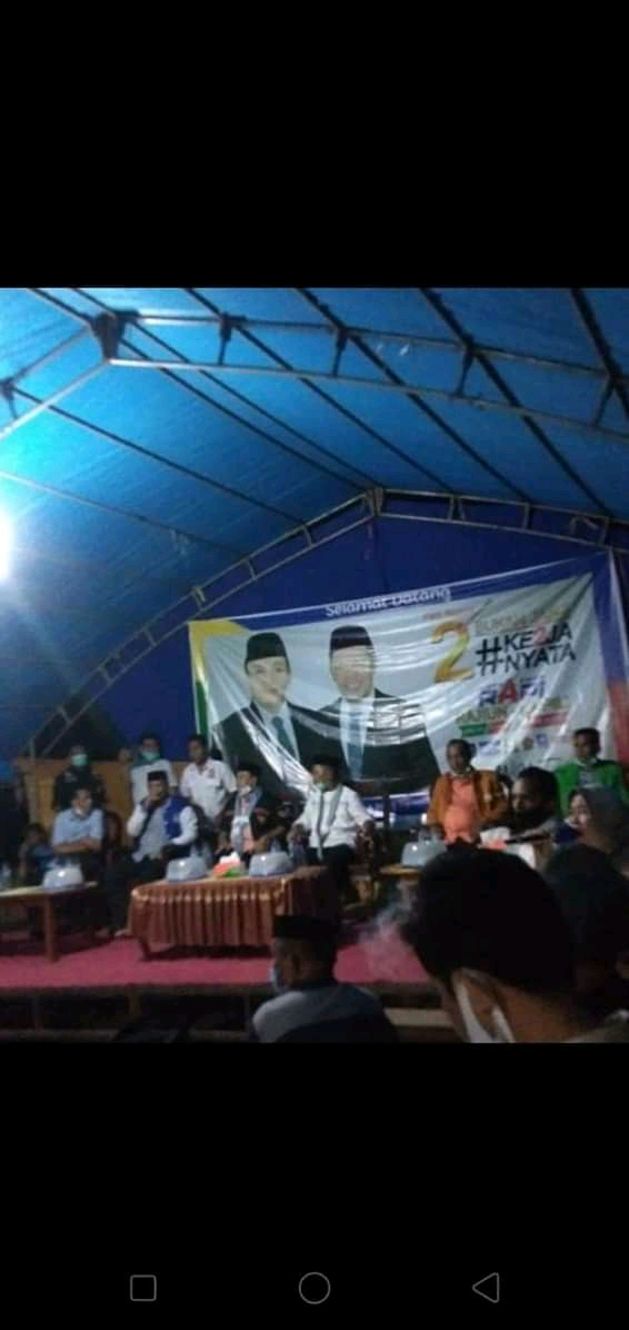 Politisi Hanura Yakin  Pasangan RAPI  Menang dan Terpilih Sebagai Bupati dan Wakil Bupati Muna