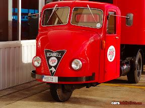 Scamel single wheel truck