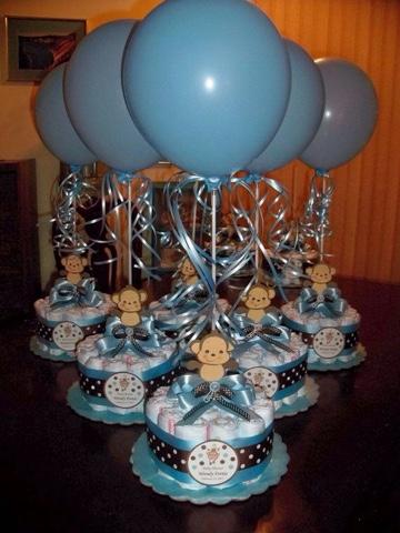 ALe SuaRez (alejina1793) on Pinterest - centros de mesa para baby shower