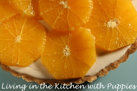... : Fresh Orange and Yogurt Tart from Martha Stewart's Pies and Tarts
