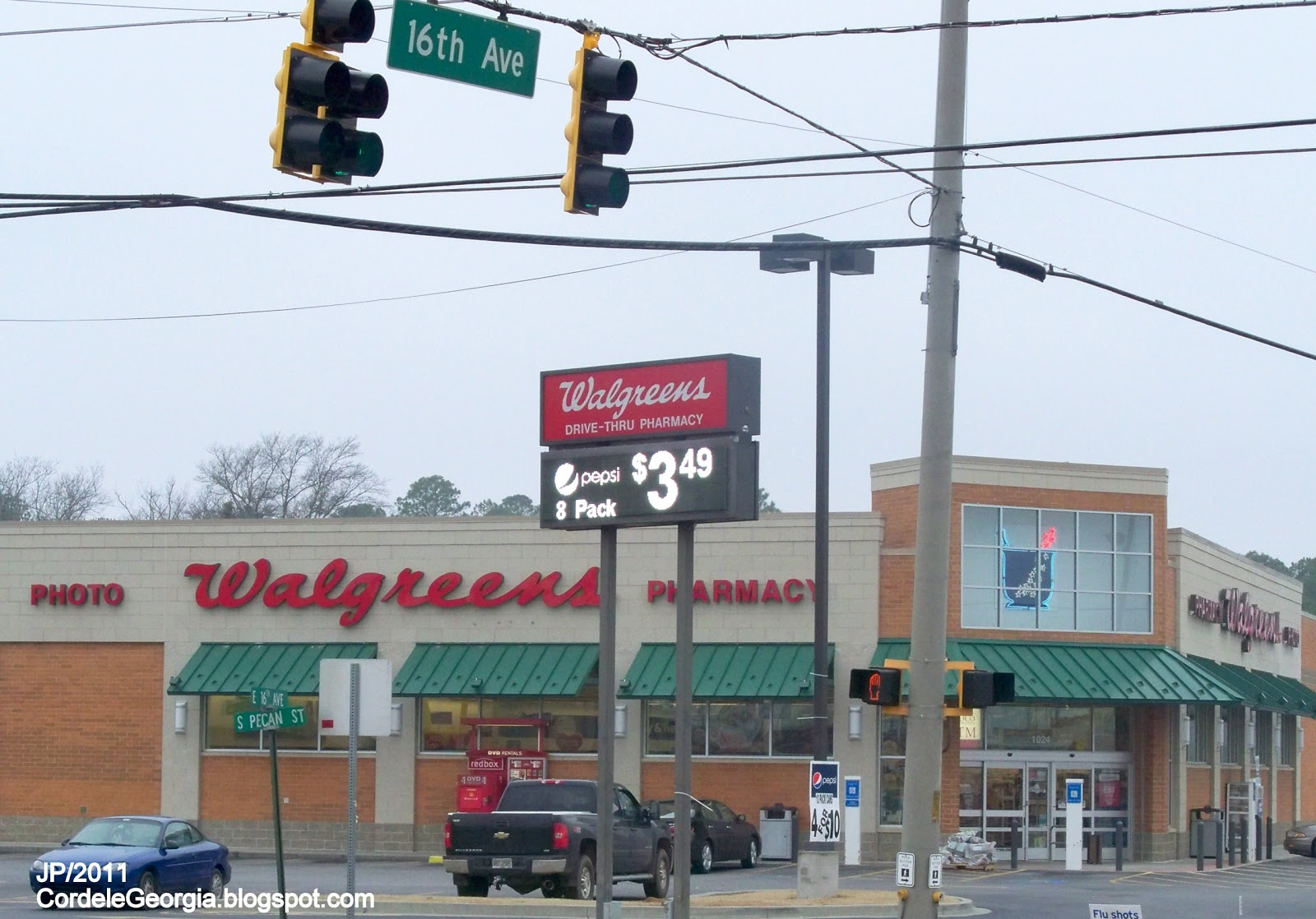 Walgreens Pharmacy Cordele Georgia 16th Avenue Photo Ga