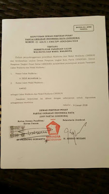 Prabowo Pilih KDM Untuk Maju Di Pilkada 2018