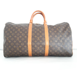 Louis Vuitton Vintage Keepall 55 Duffel Bag