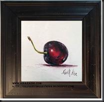 framed Cherry 6x6 1