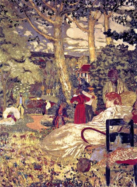 Édouard Vuillard - Woman Seated in an Armchair