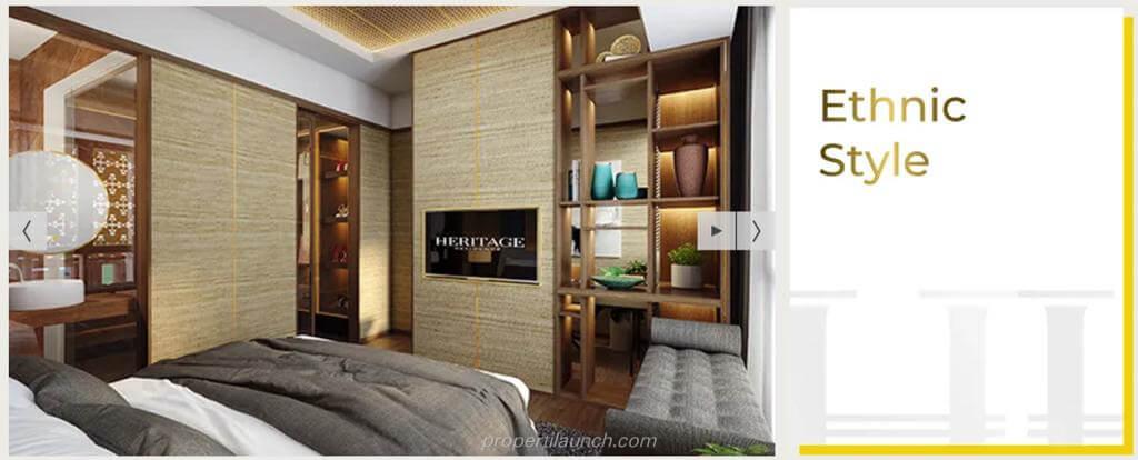 Interior Design Rumah Puri 11 Heritage Residence - Ethnic Style