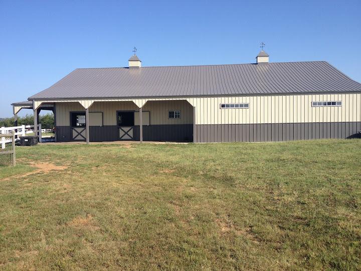 Horse barns horse pole barns horse barn construction for Horse barn builder