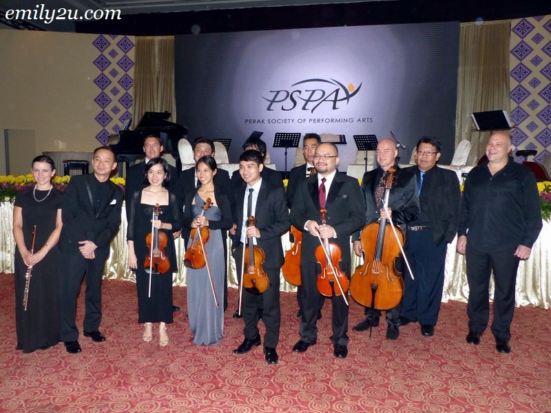 Perak Society of Performing Arts PSPA ensemble