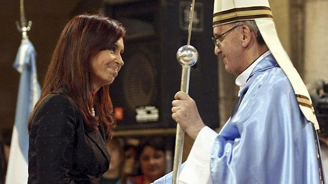 Argentina: more evidence emerges of rift between Pope Francis and President Kirchner
