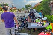Hari Ke 6 Ops Patuh Toba 2020, Satlantas Sita 14 Unit Sepeda Motor
