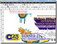 cara mengatasi masalah tidak dapat mencetak atau menyimpan file pada Corel Draw X4