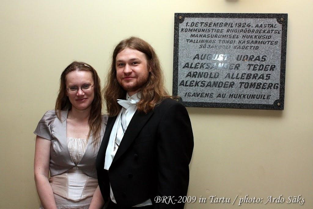 46. Balti Rahvaste Kommers / 46-th Commers of Baltic Fraternities - BRK2009_t063.JPG