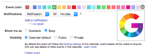 how to add more colors to iphone calendar