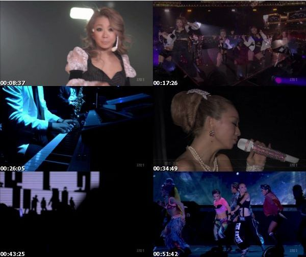 [TV-Variety] 倖田來未 – 15th Anniversary LIVE The Artist (2016.02.27)