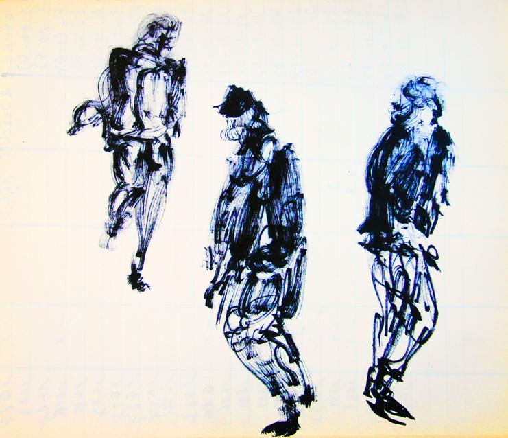 dance three figures