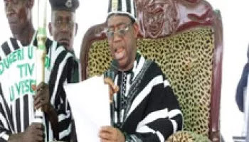 Tor Tiv tasks subjects on unity, peace