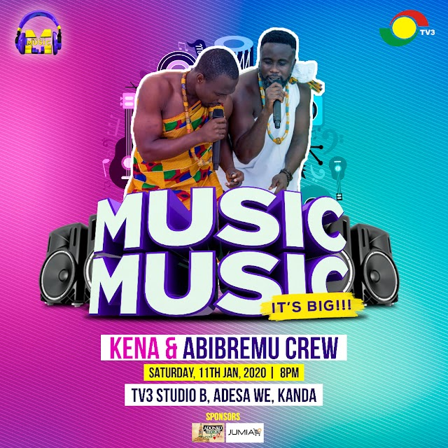 Kena & Abibremu Crew Performing live @ - (Tv3 Music,Music)