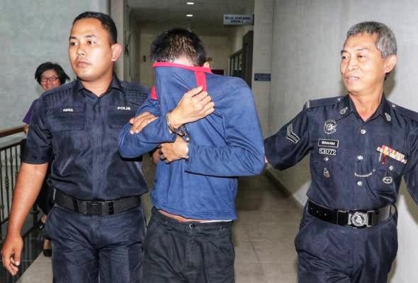 Hukuman mati terhadap pembantu kedai bunuh bekas tunang kekal