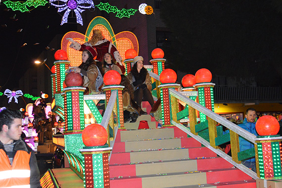 Cabalgata de Reyes 2016 en Parla