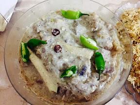 Lamb white Korma - Mehreen Yaser