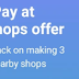 Paytm - Get Rs 30 Cashback on 3 Transactions at Shops