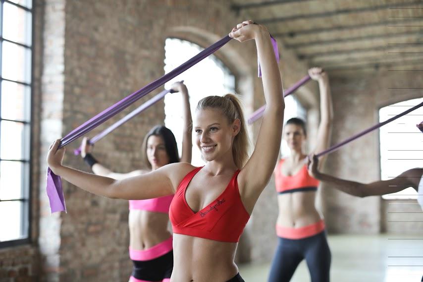 Ejercicios de Barre Fitness