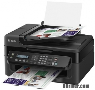 download Epson WorkForce WF-2510WF printer's driver