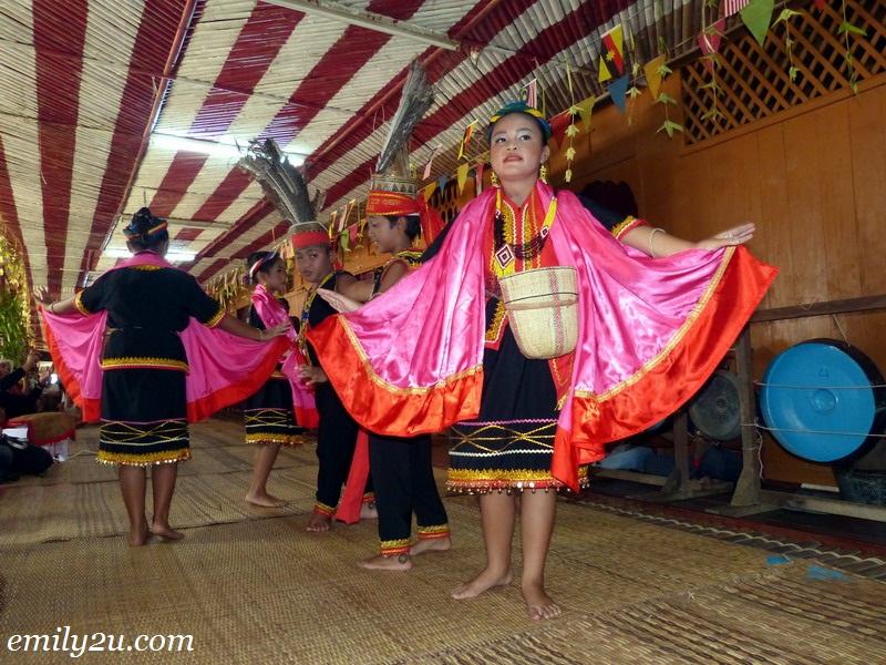 Kampung Mongkos Bidayuh village Sarawak