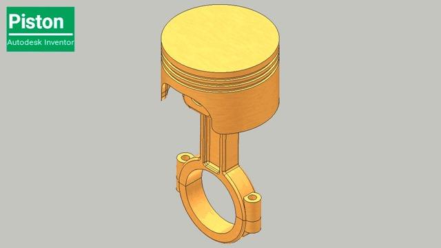 Piston Assembly -- Autodesk Inventor Tutorial-(1280x720)