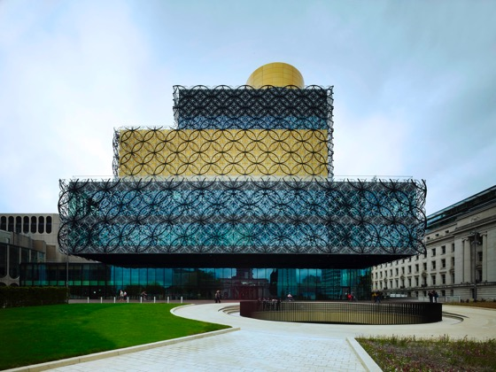 Library of Birmingham exterior 6 photocredit Christian Richters