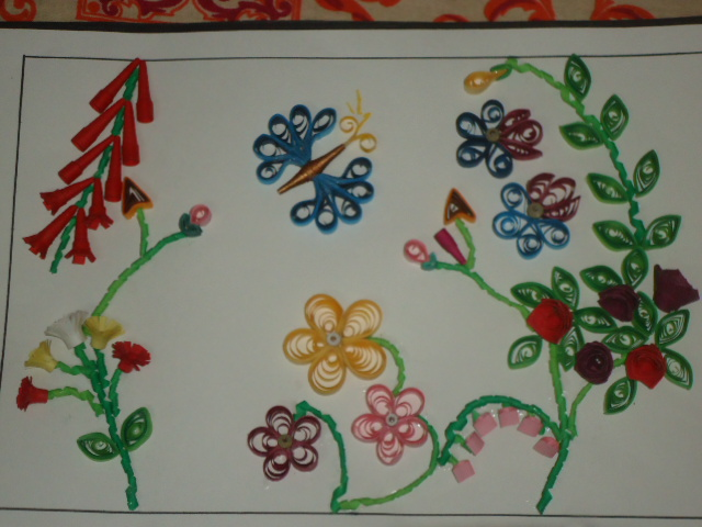 Paper Quilling Classes in RT Nagar Bangalore,summer camp,gold ...