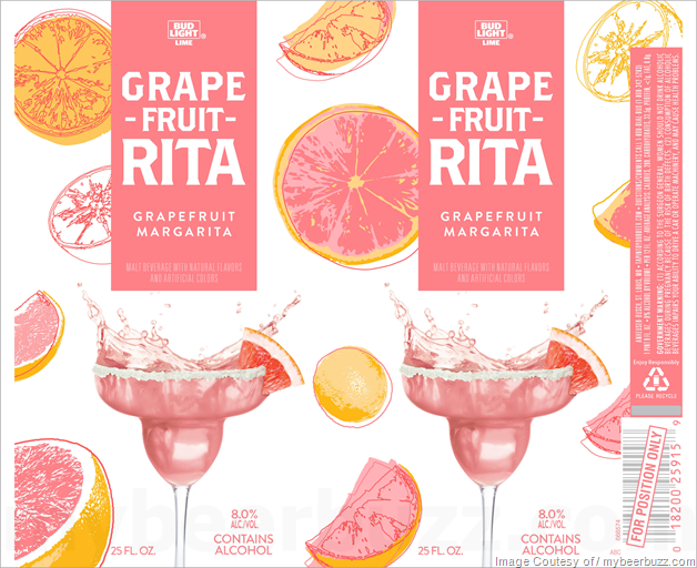 Bud Light Lime Grape-Fruit-Rita