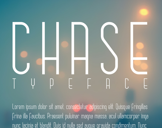 CHASE Free Fonts