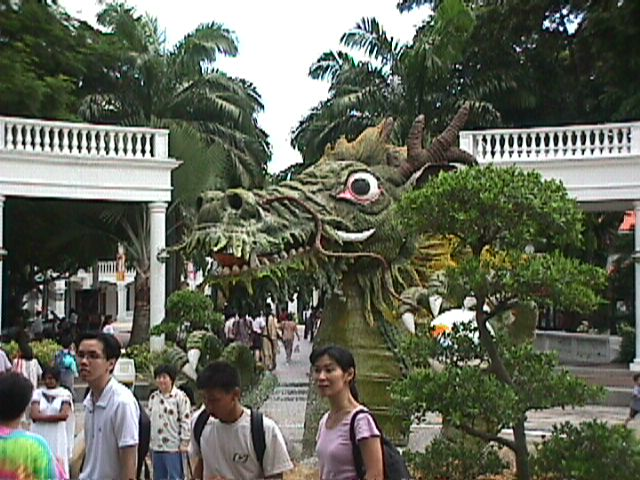 3110Sentosa's Welcoming Dragon