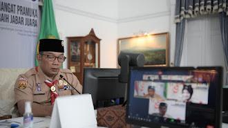 Ridwan Kamil Dorong Pramuka Tumbuhkan Jiwa Kepemimpinan Pemuda Jabar