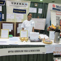 UPFNA  Omaha Health Expo Booth