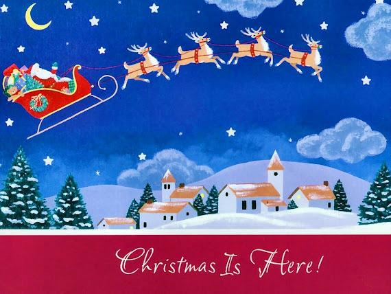 besplatne Božićne pozadine za desktop 1152x864 free download čestitke blagdani Merry Christmas Djed Mraz
