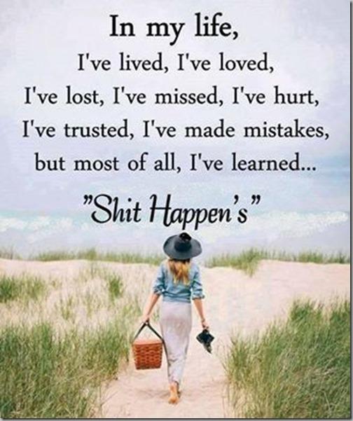 sht happens