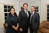 Presidential candidate Senator Marco Rubio meets with constituents in Riverside Bronx, NY on Tuesday November 3, 2015.