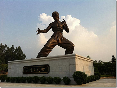 Bruce Lee Paradise at Foshan, image from Accidental Travel Writer via Google Image