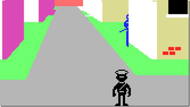 Olegario MSX pantalla juego 2