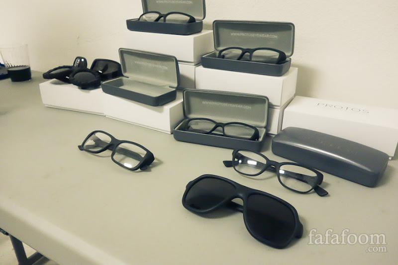 Protos 3D Eyewear showcase