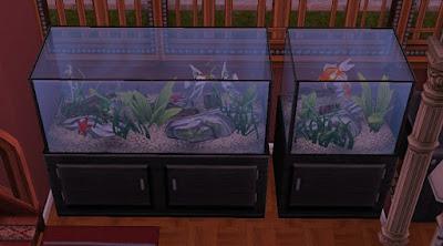 De Sims FreePlay gratis aquarium