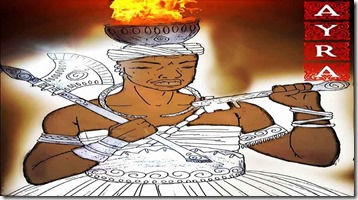 ayra - Airá - Aiyra - sango - shango - xango - sango - orixá - orisha - orisa - candomble - umbanda - africa